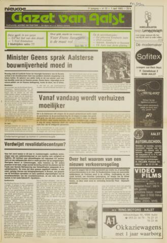 Nieuwe Gazet van Aalst 1983-04-01