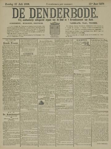 De Denderbode 1898-07-17