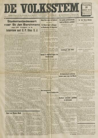 De Volksstem 1938-08-10