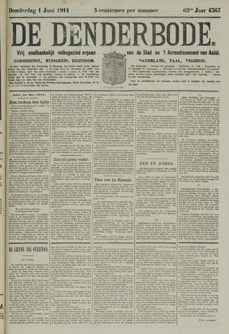 De Denderbode 1911-06-01