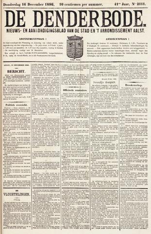 De Denderbode 1886-12-16