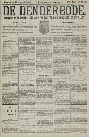 De Denderbode 1888-08-16