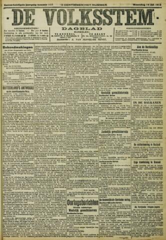 De Volksstem 1915-07-14