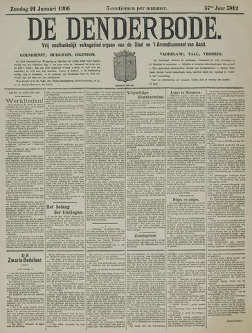 De Denderbode 1906-01-21