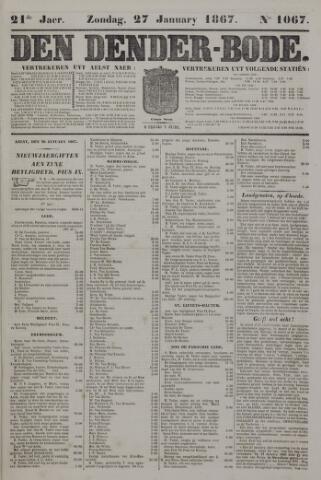 De Denderbode 1867-01-27