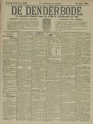 De Denderbode 1898-10-09