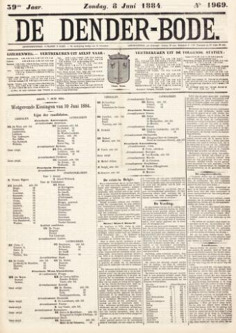 De Denderbode 1884-06-08