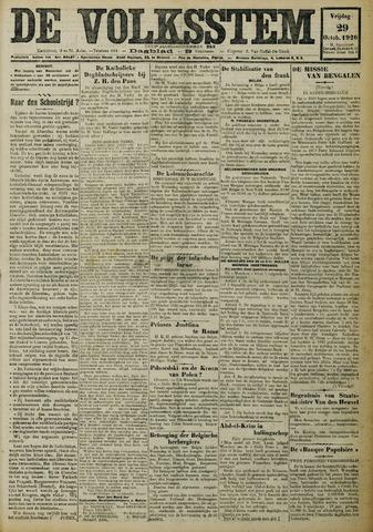 De Volksstem 1926-10-29