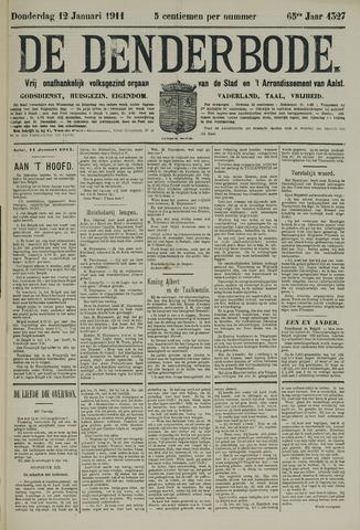 De Denderbode 1911-01-12