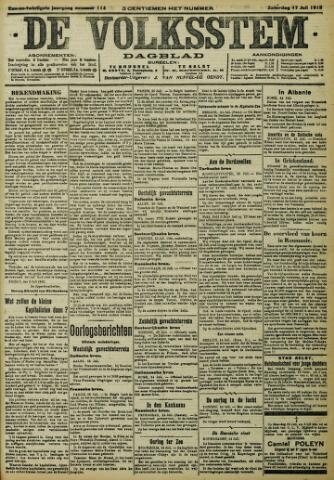 De Volksstem 1915-07-17