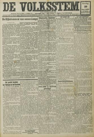 De Volksstem 1931-06-20