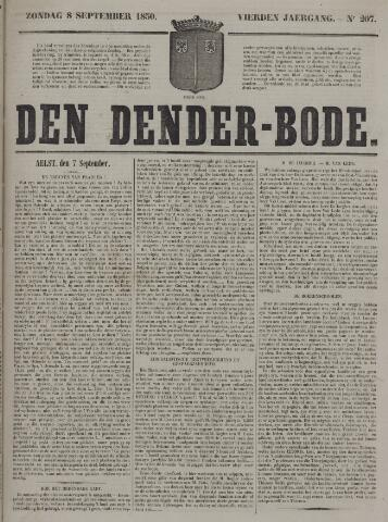 De Denderbode 1850-09-08