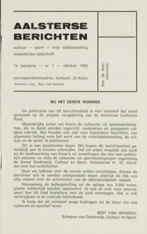 Aalsterse Berichten 1968