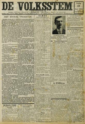 De Volksstem 1932-06-17