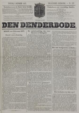 De Denderbode 1857-10-04