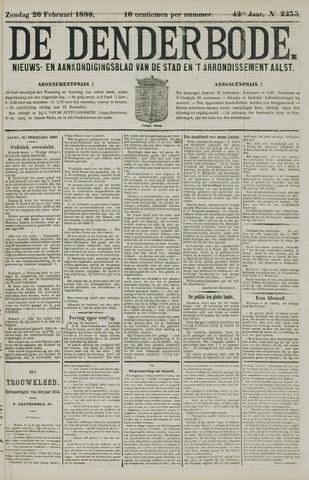 De Denderbode 1888-02-26