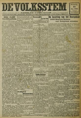 De Volksstem 1923-01-11