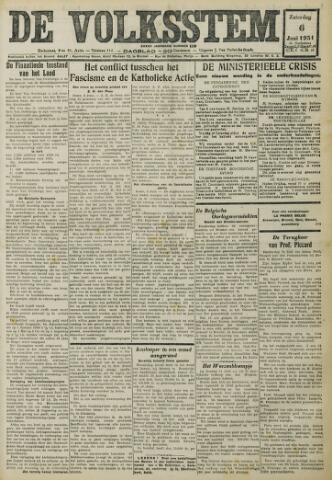 De Volksstem 1931-06-06