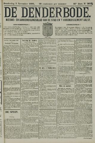 De Denderbode 1891-11-05