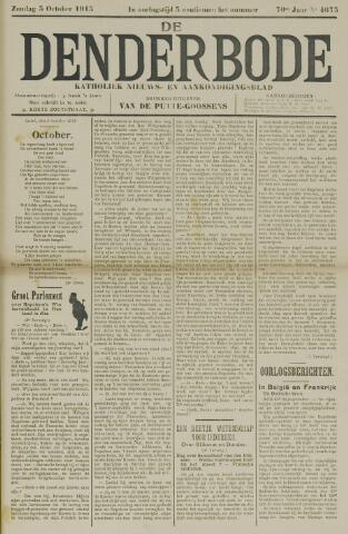 De Denderbode 1915-10-03