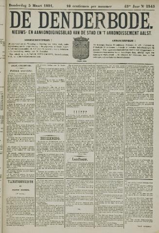 De Denderbode 1891-03-05