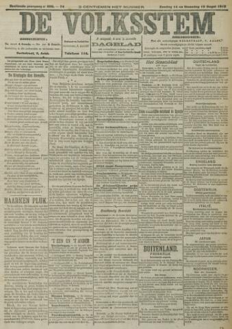 De Volksstem 1910-08-14