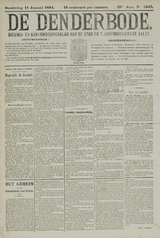 De Denderbode 1894-01-11