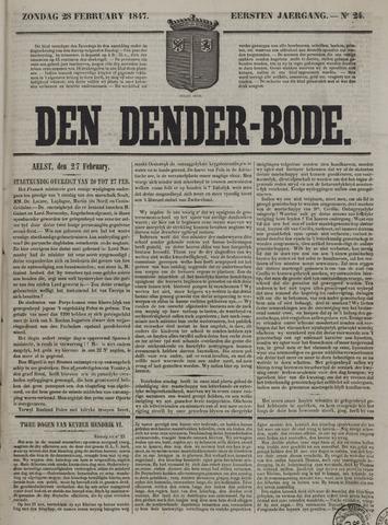 De Denderbode 1847-02-28