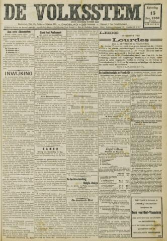 De Volksstem 1930-12-13