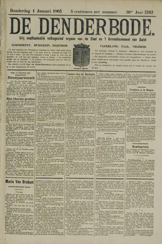 De Denderbode 1903