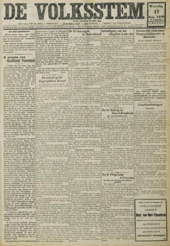 De Volksstem 1930-09-17