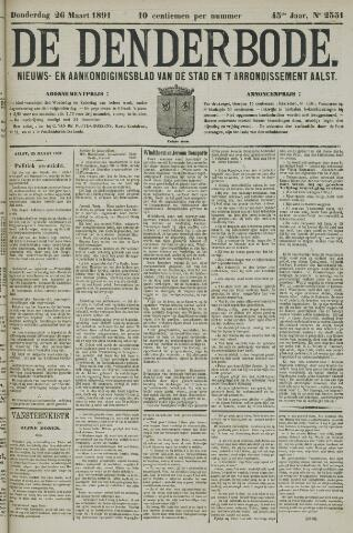 De Denderbode 1891-03-26