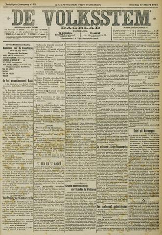 De Volksstem 1914-03-17