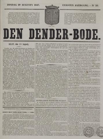 De Denderbode 1847-08-29