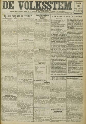 De Volksstem 1931-09-29