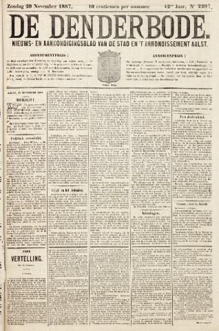 De Denderbode 1887-11-20