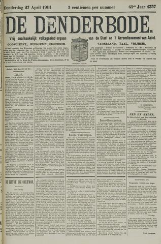 De Denderbode 1911-04-27