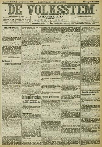 De Volksstem 1915-07-20