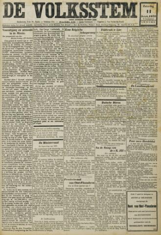 De Volksstem 1930-10-11