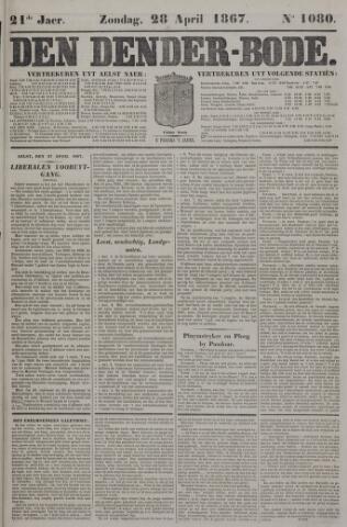 De Denderbode 1867-04-28