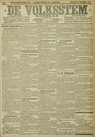 De Volksstem 1915-11-17