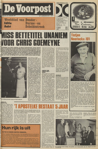 De Voorpost 1977-01-28