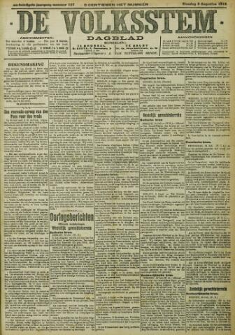De Volksstem 1915-08-03