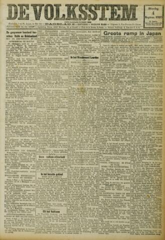 De Volksstem 1923-09-04