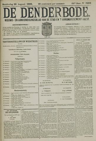 De Denderbode 1890-08-28