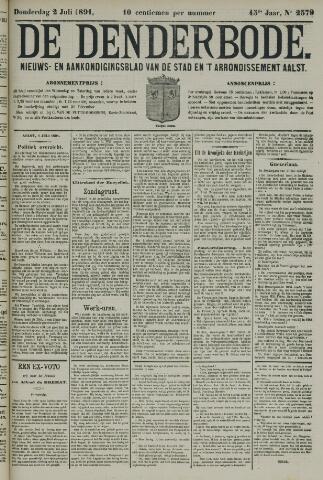 De Denderbode 1891-07-02