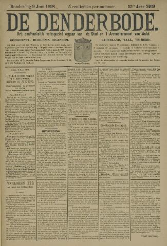 De Denderbode 1898-06-09