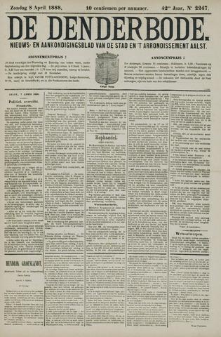 De Denderbode 1888-04-08
