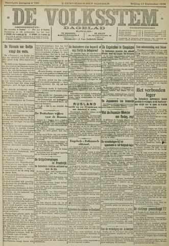 De Volksstem 1914-09-11