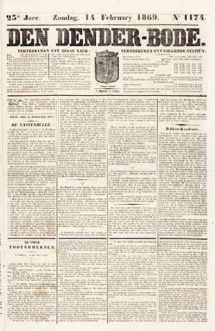 De Denderbode 1869-02-14